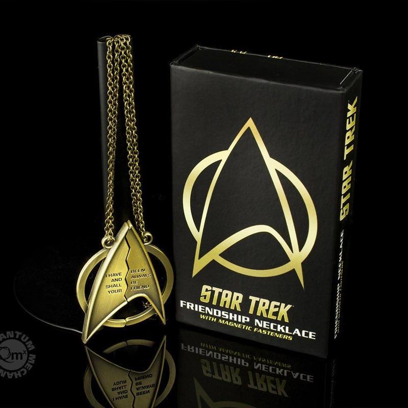 【USA直輸入】スタートレック 映画 カーンの逆襲 フレンドシップ マグネット ネックレス スタトレ Star Trek スポック カーク船長 エンタープライズ