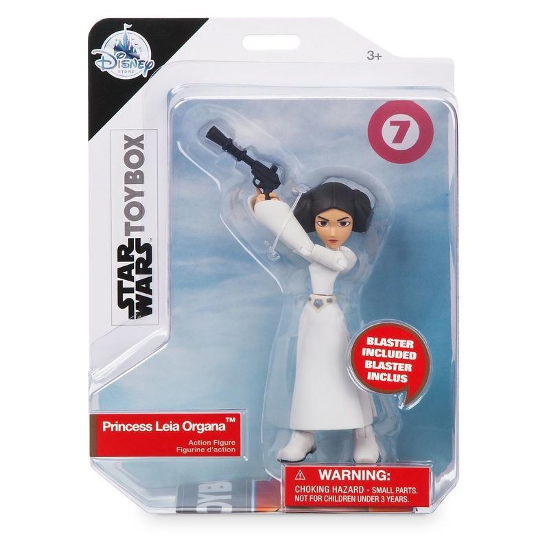 【USA直輸入】スターウォーズ TOYBOX プリンセス レイア アクション フィギュア Princess Leia STARWARS レイア姫