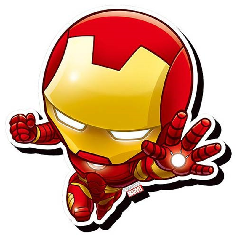 【USA直輸入】MARVEL アイアンマン チビ ファンキー チャンキー マグネット 磁石 マーベル アベンジャーズ