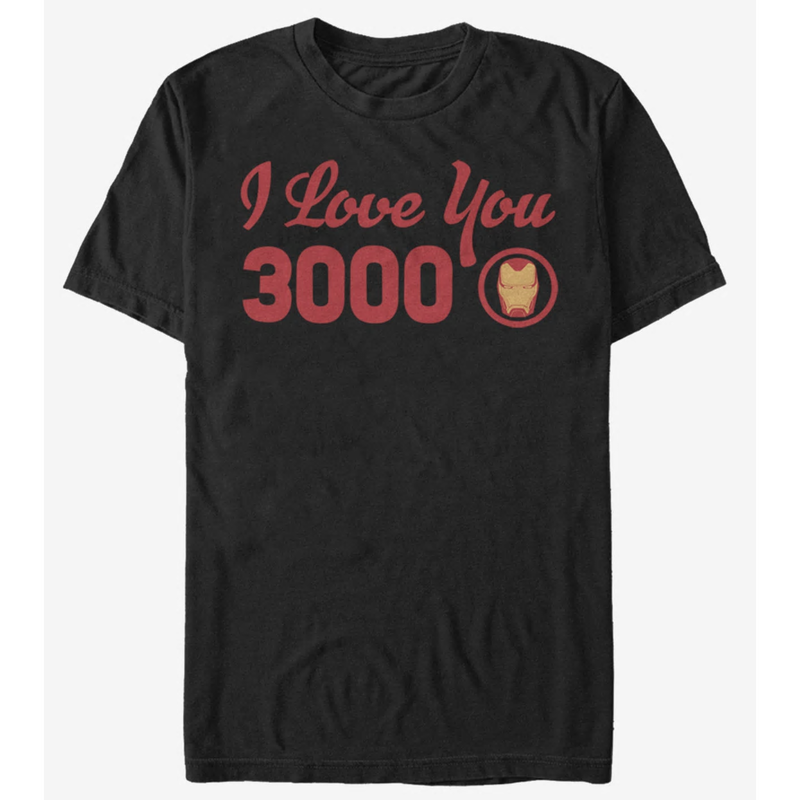 【USA直輸入】MARVEL アイアンマン アベンジャーズ エンドゲーム I Love You 3000 Tシャツ Sサイズ マーベル 映画 MCU Iron Man トニースターク