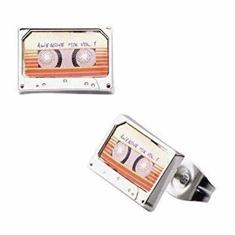 【USA直輸入】MARVEL ガーディアンズオブギャラクシー オーサム ミックス テープ ピアス ガーディアン アクセサリー カセットテープ マーベル