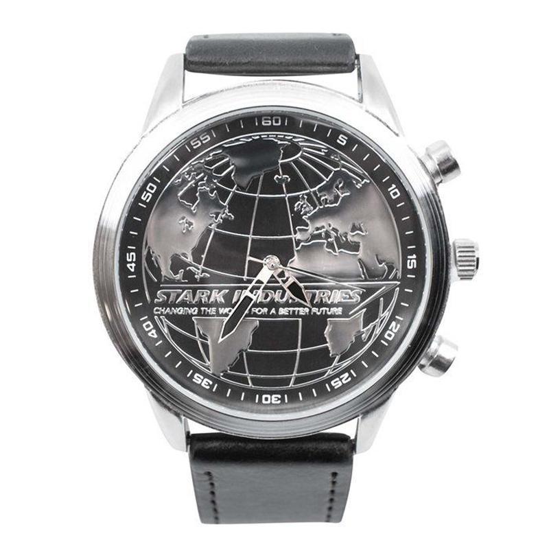【USA直輸入】MARVEL アイアンマン スタークインダストリーズ リストウォッチ 腕時計 マーベル 正規ライセンス  トニースターク