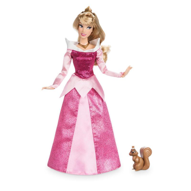 【USA直輸入】DISNEY  オーロラ姫 リス クラシック ドール 人形 約29センチ 眠れる森の美女