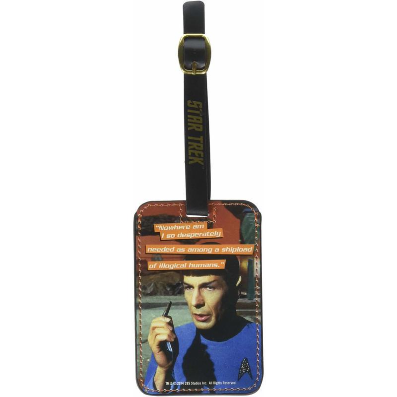 【USA直輸入】スタートレック ミスター スポック スタトレ  Star Trek カードホルダー ラゲッジタグ ラゲージタグ タグ Mr Spock 宇宙大作戦 TOS