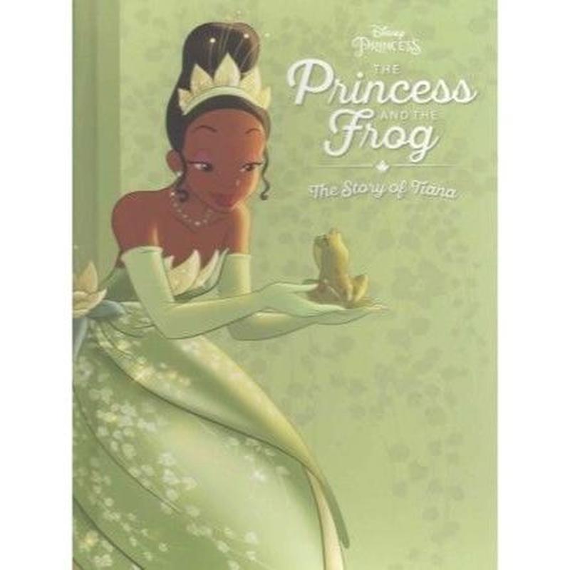 【USA直輸入】DISNEY プリンセスと魔法のキス 絵本 英語 プリンセス フロッグ ティアナ