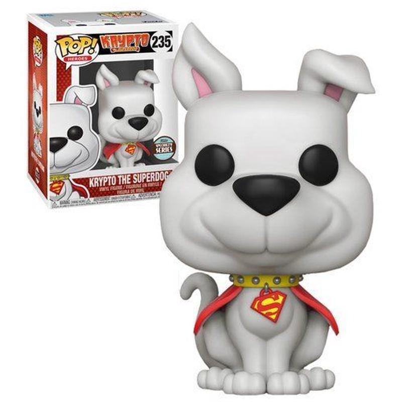 【USA直輸入】FUNKO  POP! DC ヒーロースペシャリティ  Krypto クリプト スーパードッグ スーパーマン ファンコ フィギュア ポップ DCコミックス