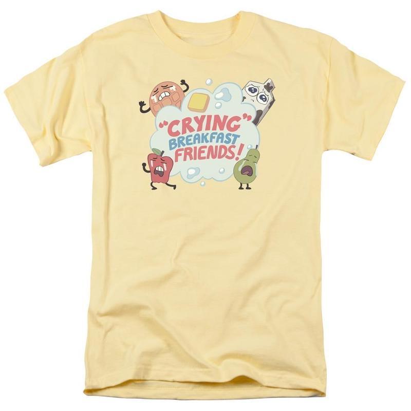 【USA直輸入】スティーブンユニバース 泣いてる朝食 フレンド Sサイズ Tシャツ