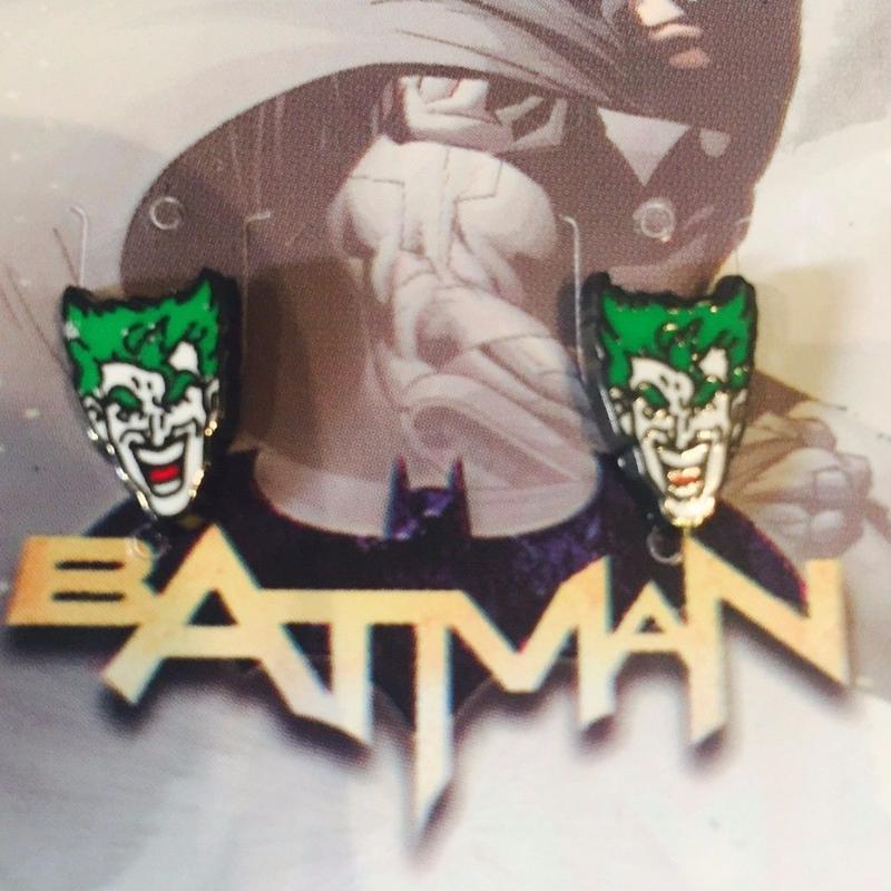 【USA直輸入】DCコミックス ジョーカー スタッド ピアス 正規ライセンス品