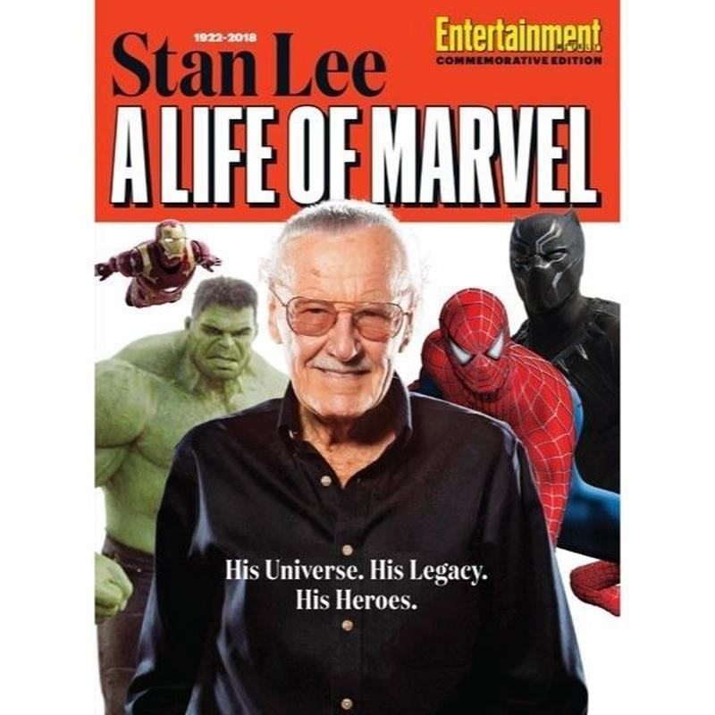 【USA直輸入】MARVEL Stan Lee: A Life of Marvel スタンリー 雑誌 本 週刊誌 Entertainment Weekly アベンジャーズ スタン リー