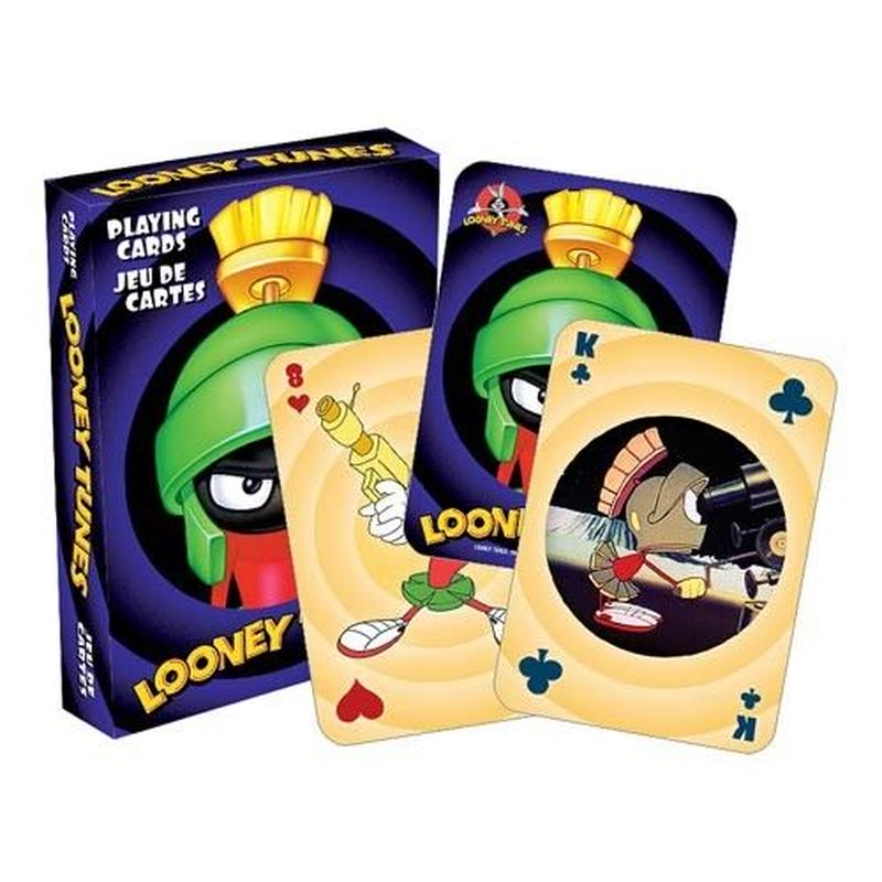 【USA直輸入】Looney tunes  ルーニーチューンズ マービン ザ マーシャン トランプ プレイングカード ルーニー マービンザマーシャン
