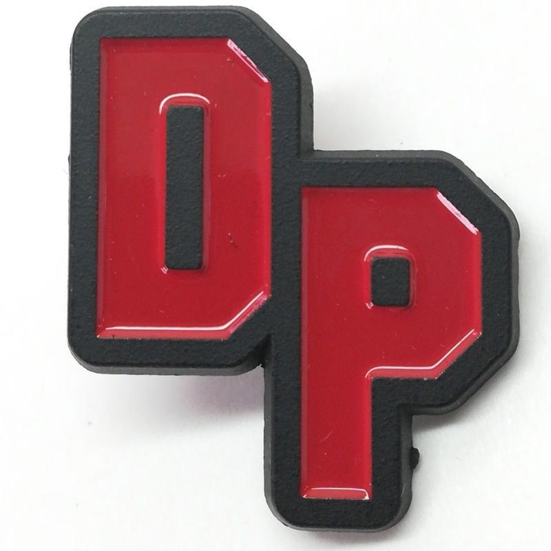 【USA直輸入】 MARVEL デッドプール DP 文字 エナメル ピン マーベル ピンズ ピンバッジ Deadpool