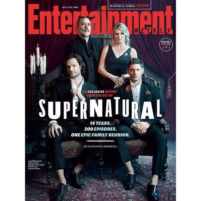 【USA直輸入】スーパーナチュラル Supernatural  エンターテイメント ウィクリー 雑誌 本 週刊誌 海外ドラマ サム ディーン ウィンチェスター Entertainment Weekly