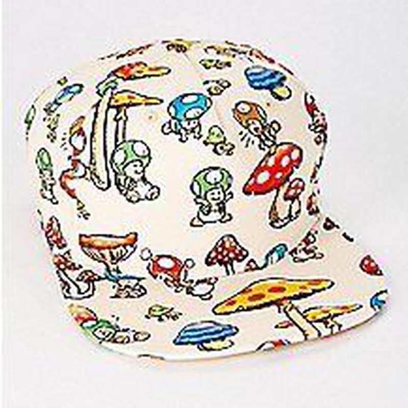 【USA直輸入】スーパーマリオ キノピオ GAME ゲーム キャップ スナップバック 帽子 ハット