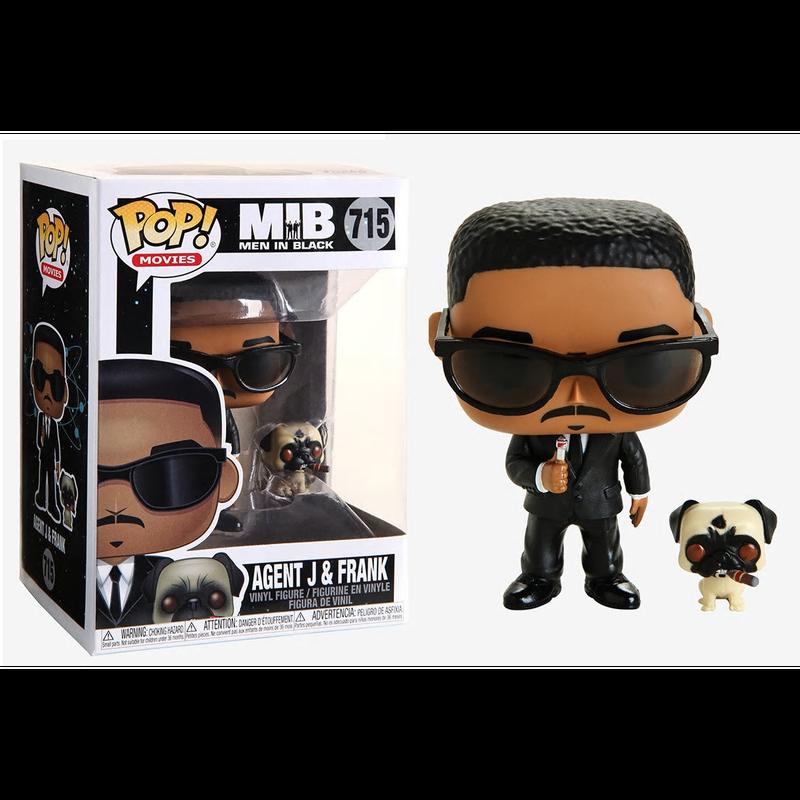 【USA直輸入】POP! メン・イン・ブラック ジェームズ・エドワーズ J & フランク パグ Men in Black 715  FUNKO ファンコ フィギュア ポップ  MIB