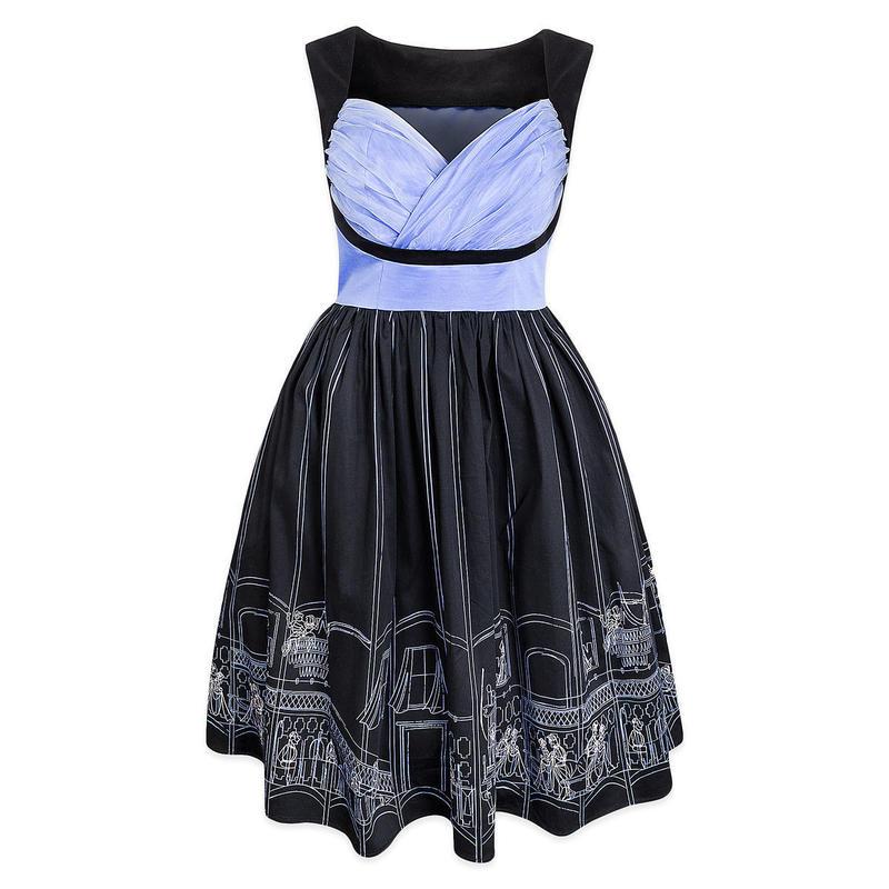 【USA直輸入】DISNEY ホーンテッドマンション ドレス ワンピース ドレスショップ DRESS SHOP ディズニー Dハロ THM
