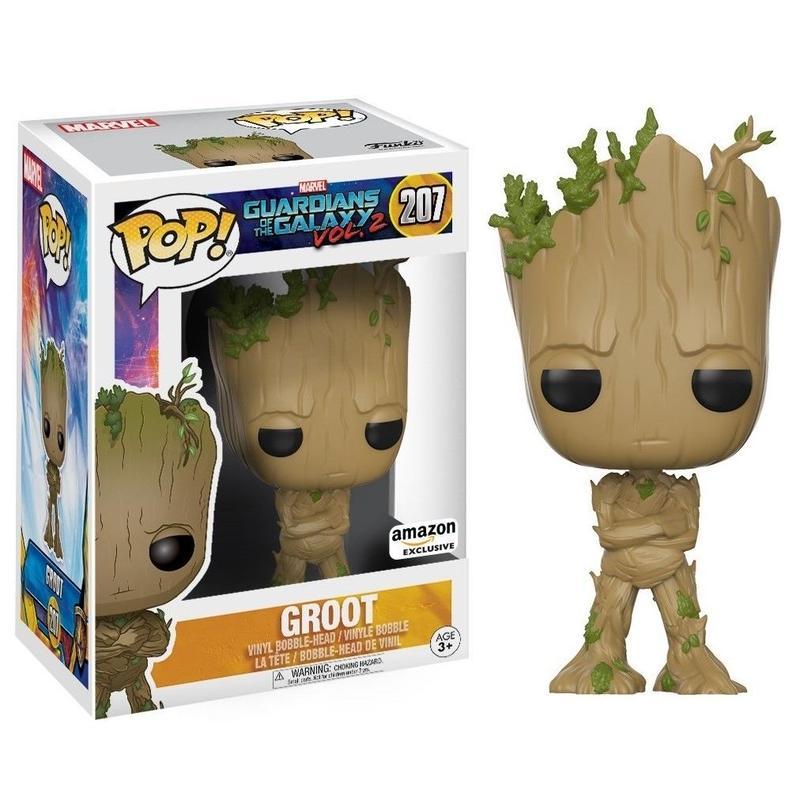 【USA直輸入】POP! MARVEL ガーディアンズオブギャラクシー Vol. 2 Groot グルート 青年期 FUNKO ファンコ フィギュア  マーベル  反抗期 若者 Guardians