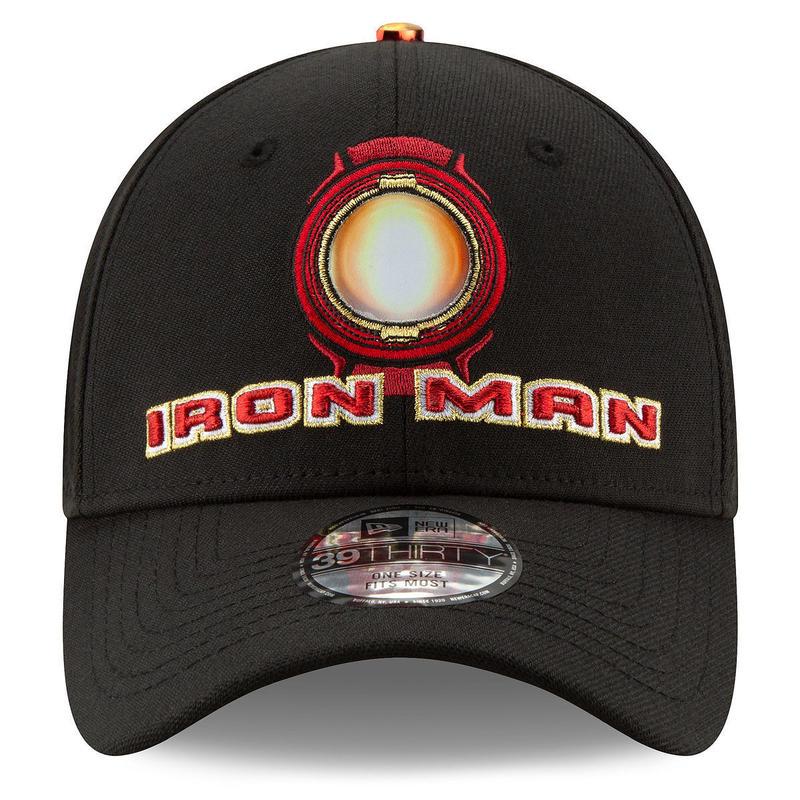 【USA直輸入】MARVEL マーベルスタジオ スタジオ10周年記念  ケヴィン・ファイギ クルー キャップ アイアンマン ロゴ 39Thirty ニューエラ NEWERA 帽子 マーベル
