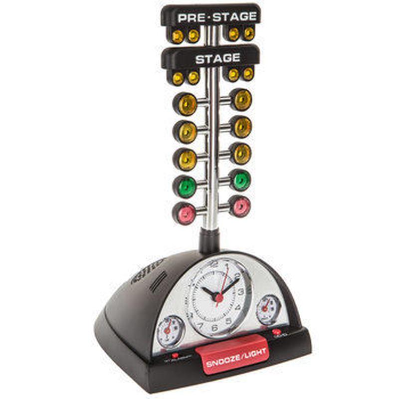 【USA直輸入】ドラッグレース アラームクロック クロック 時計 置き時計 アメ雑 インテリア