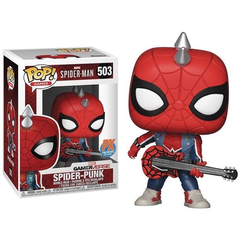 【USA直輸入】POP! MARVEL ゲーム Gamerverse Spider-Punk スパイダーパンク 503 FUNKO ファンコ フィギュア マーベル スパイダーマン GAME