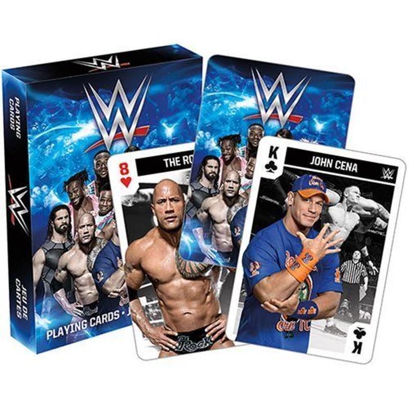 【USA直輸入】WWE スーパースター トランプ プレイングカード アメリカ プロレス
