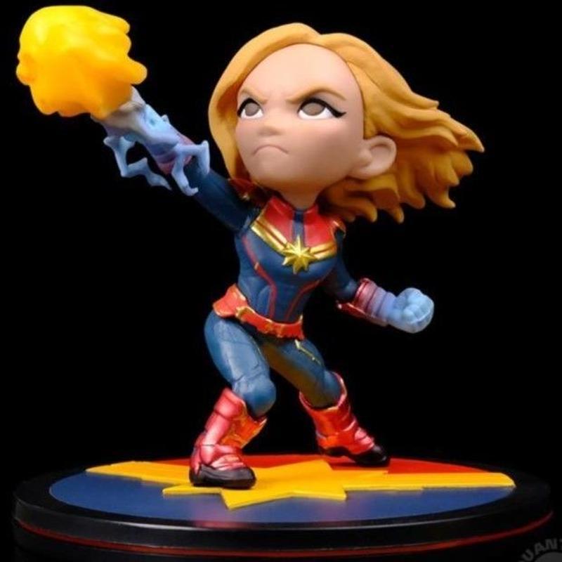 【USA直輸入】MARVEL キャプテンマーベル Q-FiG Captain Marvel コンタムメカニック フィギュア キャプテン マーベル  アベンジャーズ