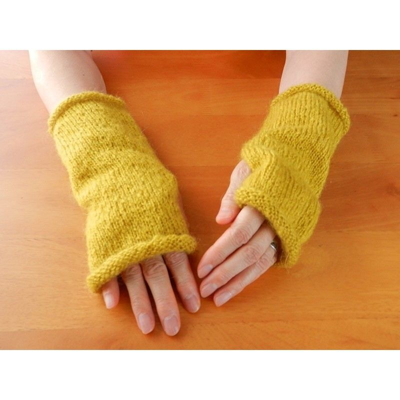 Mustard  ハンドウォーマー/指なし手袋 05