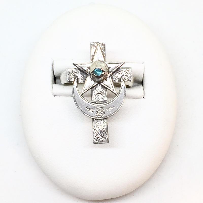 Eye of cross RING(SILVER)