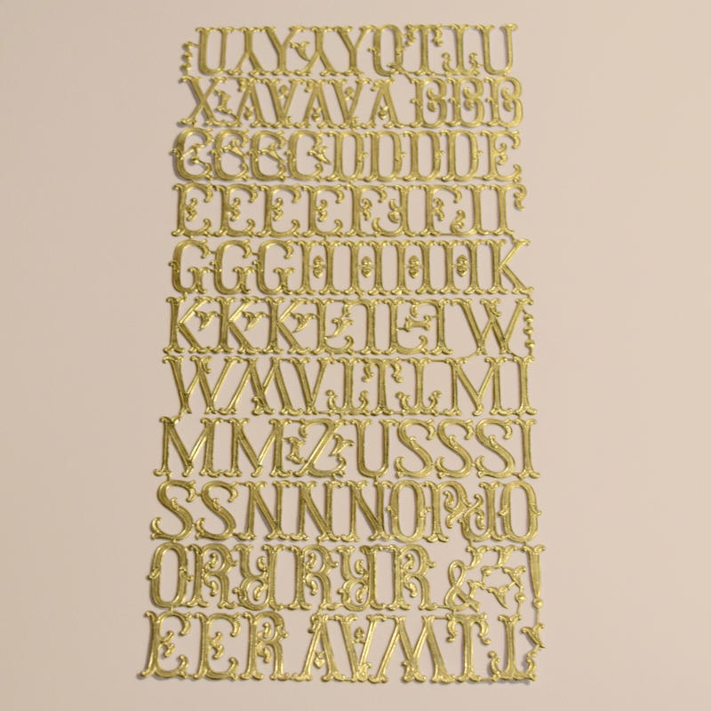 ドイツ ドレスデン ペーパー アルファベットセット たっぷり