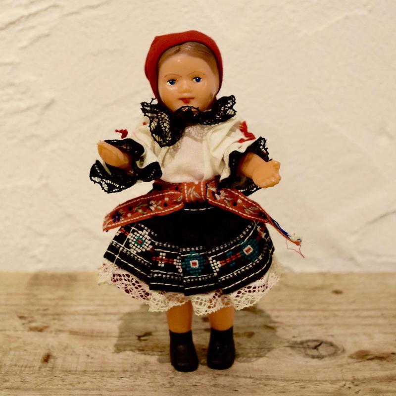 チェコ 民族衣装のお人形 南モラヴィア地方
