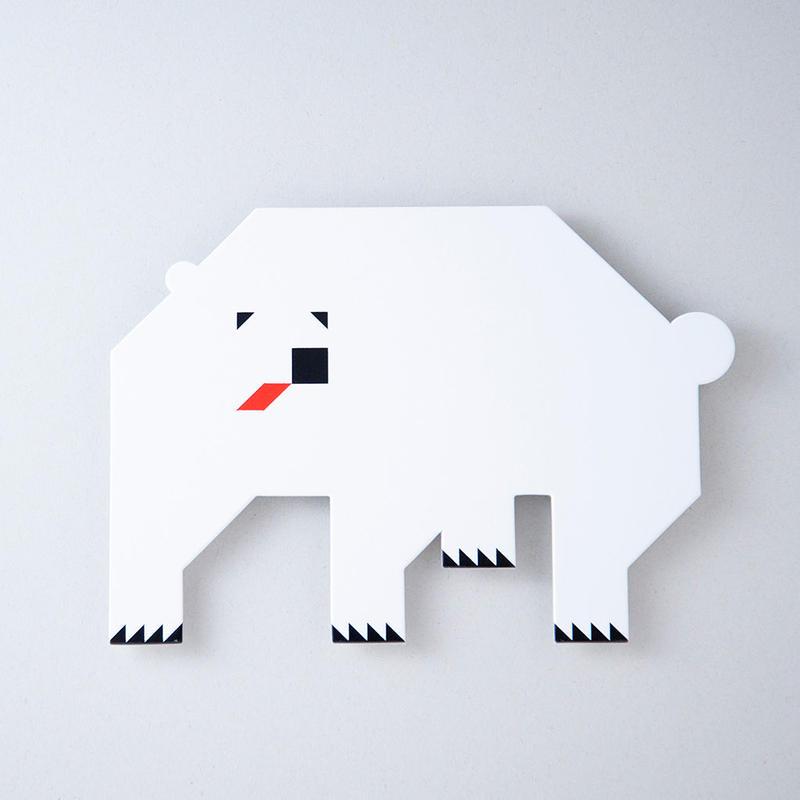 北海道ポストカード ホッキョクグマ