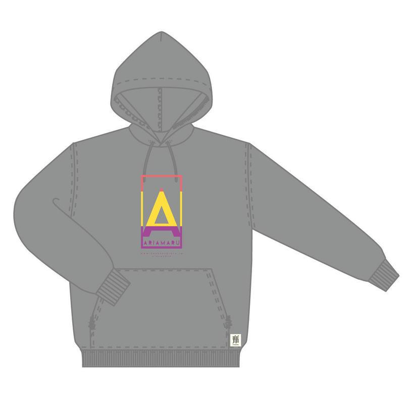 A-F パーカー <グレー>【感覚ピエロ】