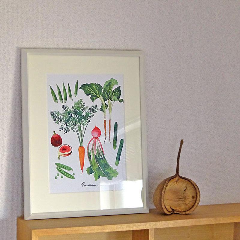 AP01 A4ポスター Vegetables