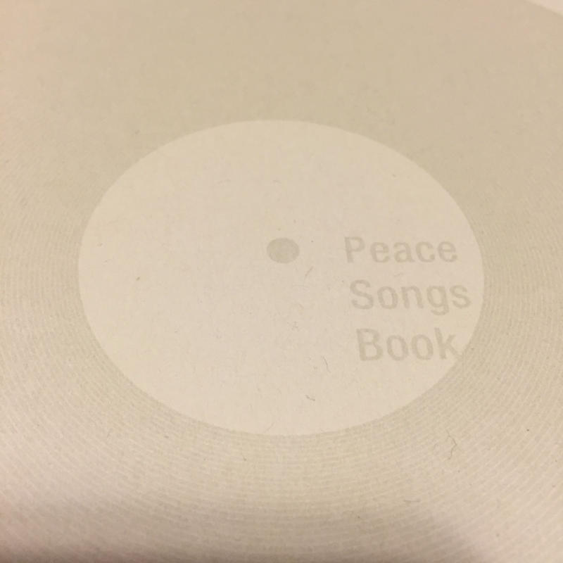peace songs book