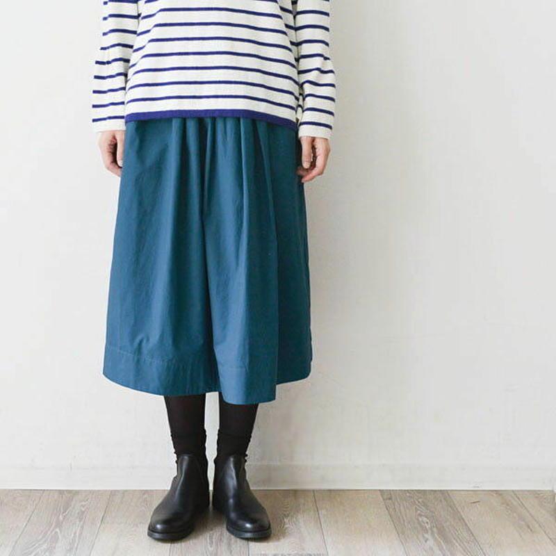 綿ブロード・ギャザースカート(723208)
