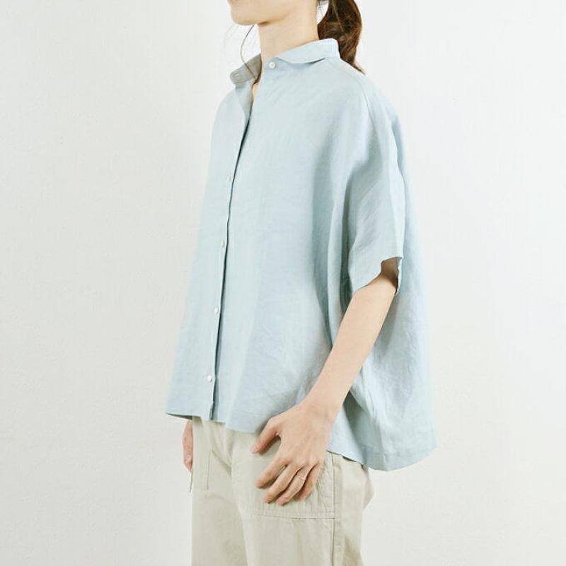 Pont de Chalons 五分袖ワイドシャツ (PK7247)
