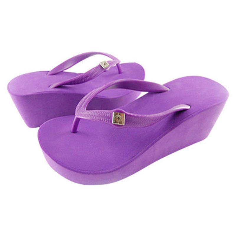 7CM Wedges - Purple
