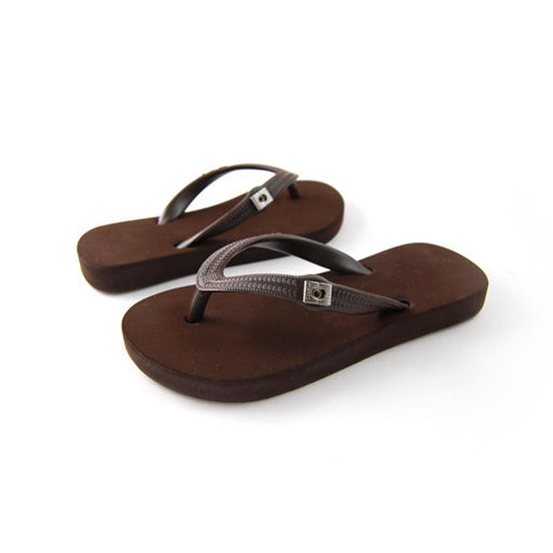 Toddler Flip-Flops - Brown