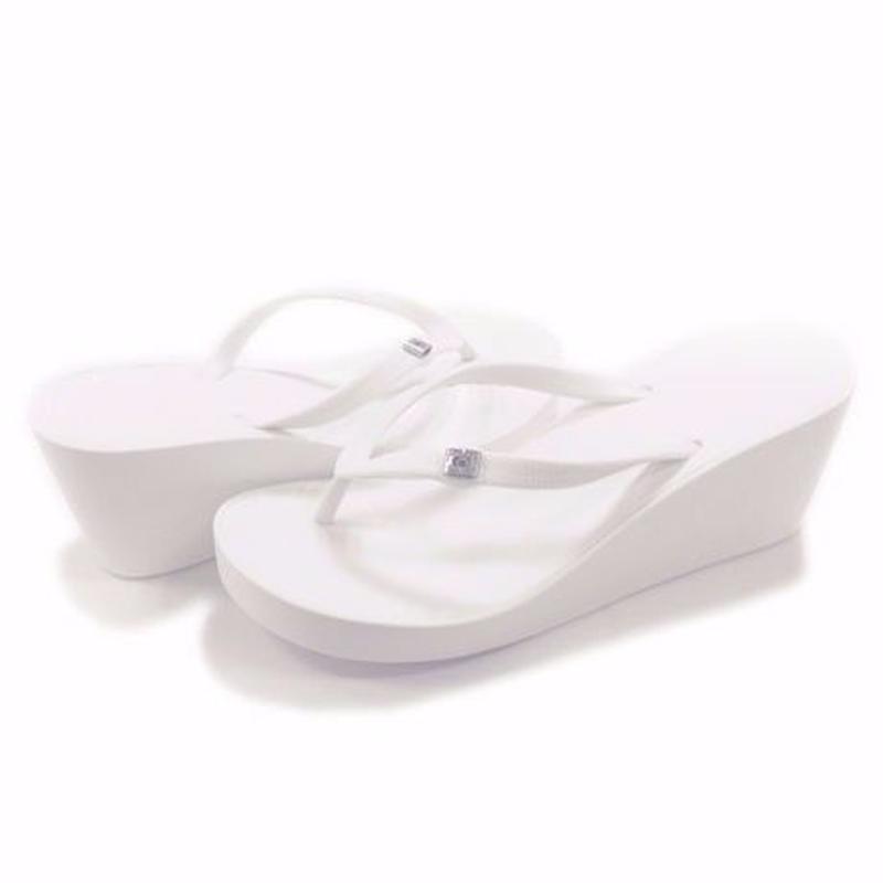 7CM Wedges - White