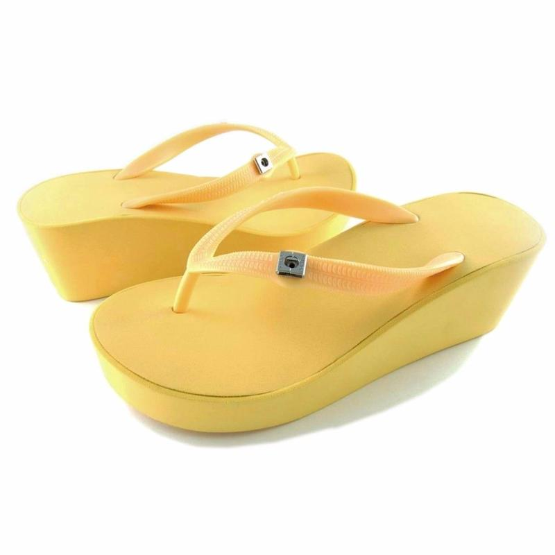 7CM Wedges - Yellow