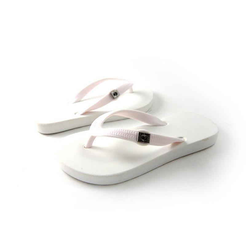 Toddler Flip-Flops - White