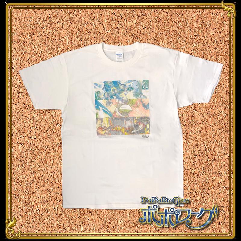 福島敦子原画モチーフ TシャツVol.4