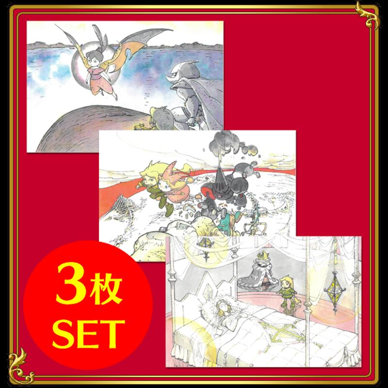 福島敦子原画モチーフ ポストカードVol.1