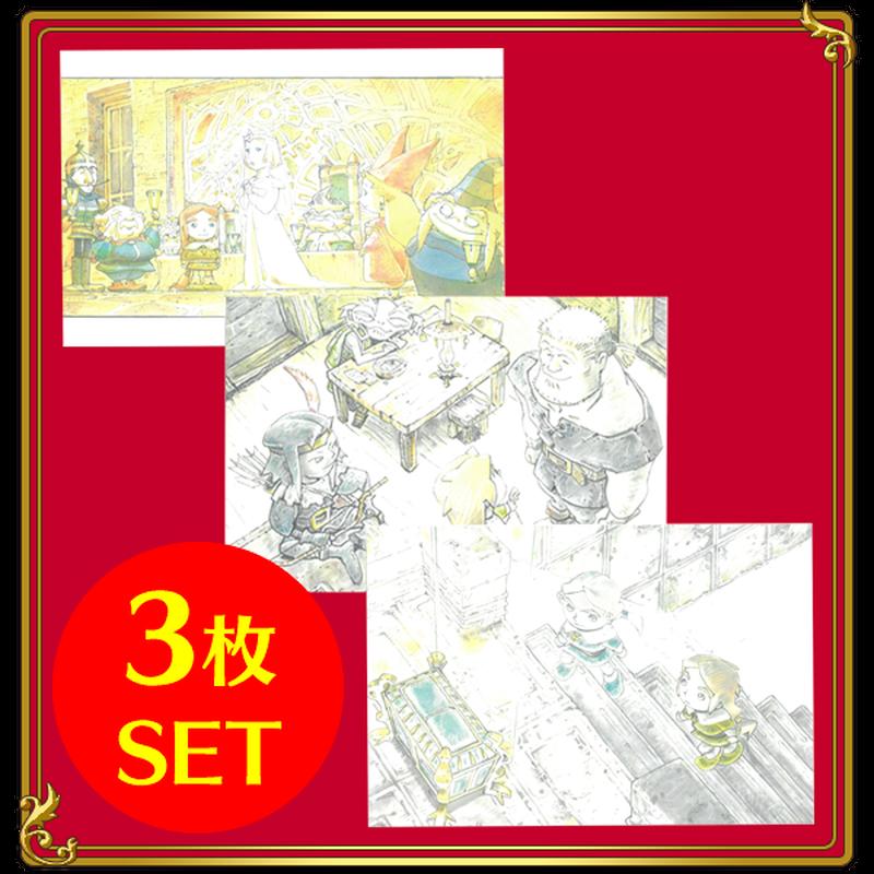 福島敦子原画モチーフ ポストカードVol.2