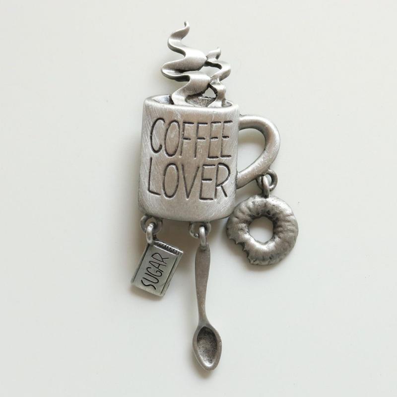 JJ / Jonette Jewelry company コーヒー好きさんのためのヴィンテージブローチ