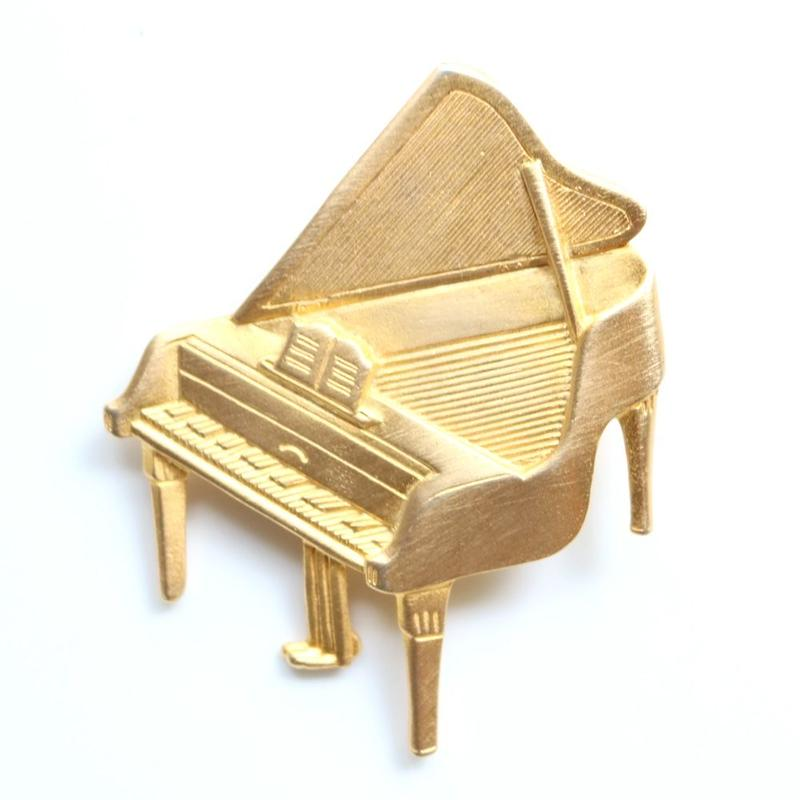 【お取り寄せ品】JJ / Jonette Jewelry company  ヴィンテージブローチ  グランドピアノ