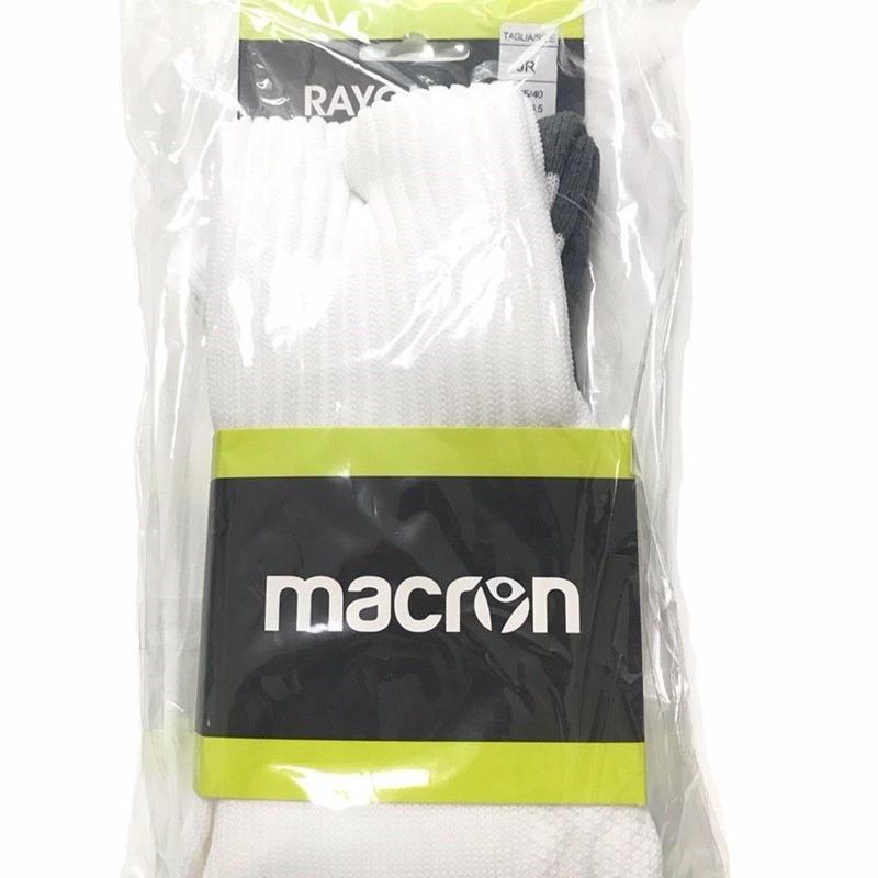 【受け取りのみ】macron【ストッキングWH】JRサイズ(23~25cm)SRサイズ(26~28cm)