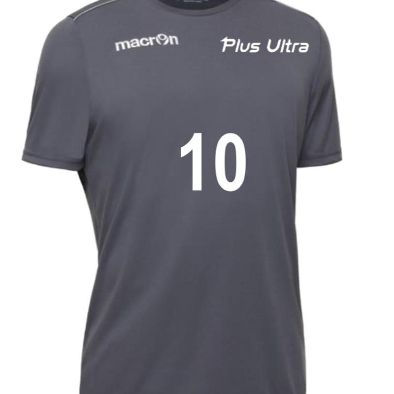 【受注生産】macron【RIGEL】番号入りプラクティスシャツ  メタリック