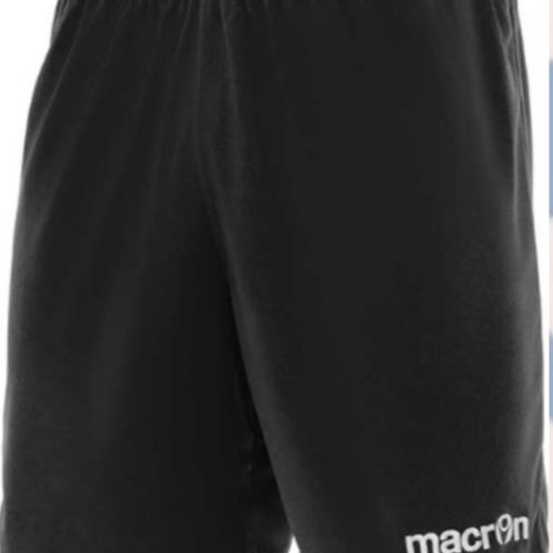 【受注発注】macron【MESA】プラクティスパンツ ブラック