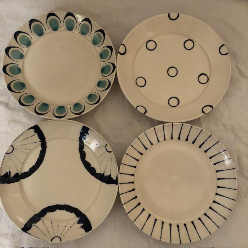 宮城陶器 8寸リム皿