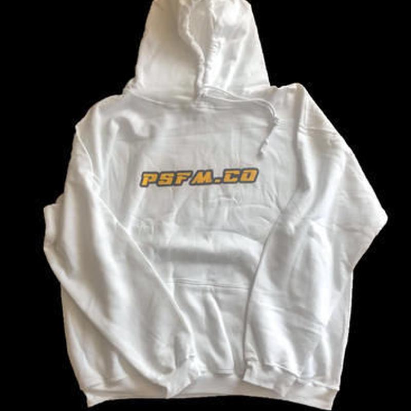 PSFM.CO LOGO pullover parka